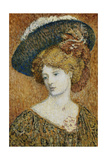 Woman with Hat; Femme Au Chapeau - Vrouw Met Hoed Giclee Print by Georges Lemmen