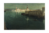 St. Giorgio from the Housetops, 1905-1906 Giclee Print by Albert Goodwin
