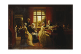 Music at the Parsonage Giclee Print by Frederick Daniel Hardy