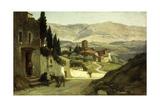 Near Perugia, 1870 Giclee Print by Elihu Vedder