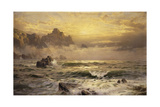 Mornings Mist, Guernsey, 1898 Giclee Print by William Trost Richards