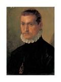 Portrait of a Knight Giclée-tryk af Francesco De Rossi Salviati Cecchino