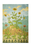Sunflowers and Poppies; Soucis Et Pavots, 1899 Giclee Print by Paul Ranson
