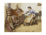 Distant Thoughts, 1887 Giclee Print by Walter Langley