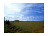 View of the Stone Built Mound Covering the Prehistoric Passage Tomb at Newgrange Giclee Print