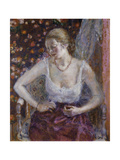 Woman Dressing Giclee Print by Frederick Carl Frieseke