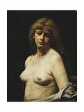 Nude; Akt Giclee Print by Maurycy Gottlieb