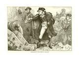 Washington at the Siege of Yorktown Giclee Print