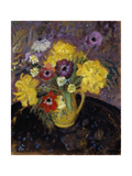 Yellow Tulips; Les Tulipe Jaunes Giclee Print by Frederick Carl Frieseke