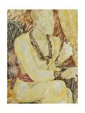 Mrs Ody Giclee Print by Jessica Stewart Dismorr