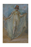 Green and Gold, the Dancer Giclee Print by James Abbott McNeill Whistler