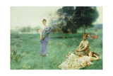 Fleur De Luce' Giclee Print by Henry Siddons Mowbray