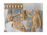 Terracotta Plaque from the Temple of Apollo on the Palatine Giclee Print