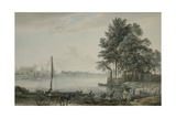 A View of Eton College from the Thames, 1779 Giclee Print by Paul Sandby