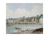 Vauxhall Stairs, from Millbank, 1797 Giclee Print by Francis Towne