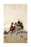 Trotting; Al Trotto Giclee Print by Alfredo Tominz