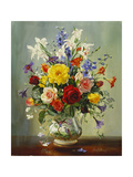 Summer Flowers Giclee Print by Albert Williams