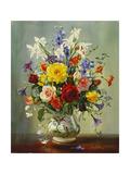 Summer Flowers Giclee Print by Albert Williams