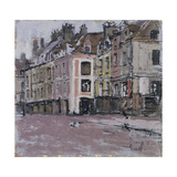 The Old Arcades, Dieppe; Les Vieux Arcades, Dieppe, C.1898-1900 Giclee Print by Walter Richard Sickert