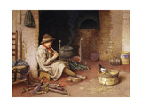 Idle Moments Giclee Print by Charles Edward Wilson