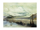 Mount Mckinley Giclee Print by Sidney Laurence