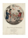 The Night Constable Giclee Print by George Moutard Woodward