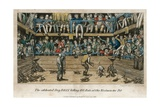 The Celebrated Dog Billy Killing 100 Rats at the Westminster Pit Giclee Print