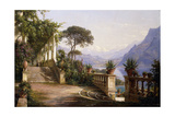 Loggia Fra Como, 1880 Giclee Print by Carl Frederick Aagaard