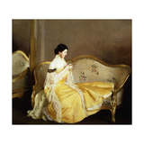 The Crystal Giclee Print by William McGregor Paxton