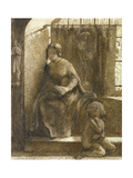 the Sun May Shine and We Be Cold', 1848 Giclee Print by Dante Gabriel Rossetti