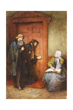 At the Sick Man's Door Giclee Print by Frederick Walker