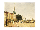 Dordrecht, La Ville, 1884 Giclee Print by Eugène Boudin