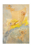 Poster for an Exhibition; Affiche Pour Une Exposition, 1896 Giclee Print by Felicien Rops