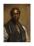 Portrait of a Negro Gicleetryck av Sir William Orpen