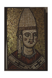 "A Fragment of a Mosaic from the Apse of ""Ecclesia Romana"" the First Basilica of St Peter in the… Giclee Print"