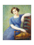 Woman with a Chair; Femme Au Fauteuil Giclee Print by Hippolyte Petitjean