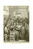 Signing of the Treaty of Westphalia Giclee Print