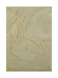 Nude; Akt Giclee Print by Ernst Ludwig Kirchner