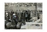 The Prince of Wales at the Volunteer Review, Horse Guard's Parade Giclee Print by Henry Marriott Paget