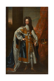 State Portrait of King William III Giclee Print by Sir Godfrey Kneller