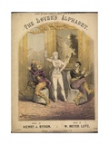 The Lover's Alphabet Giclee Print by Alfred Concanen