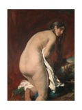 Nude from Behind Giclee Print by William Etty