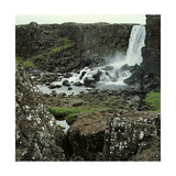 Thingvellir, 'Parliament Plains', Where the National Assembly, Althing, Met Giclee Print