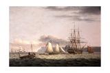 Men of War Giclee Print by Thomas Luny
