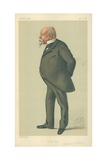 Mr Samuel Ward, Uncle Sam, 10 January 1880, Vanity Fair Cartoon Giclee Print by Sir Leslie Ward