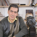 Mario Vargas-Llosa, 1985 Photographic Print