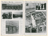 The Battle of Mile End, the Last Dramatic Stand of the Houndsditch Murderers Photographic Print