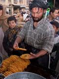 Sweet Makers, Kabul Photographic Print