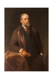 Portrait of J. F. Cheetham, C.1880-90 Giclee Print by Henry Tanworth Wells