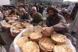 Men Selling Bread, Kabul Photographic Print